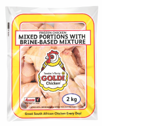 Goldi mixed chicken portions