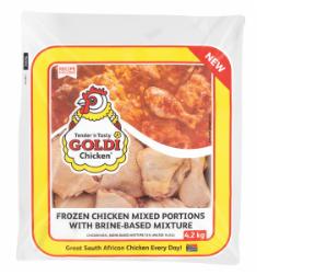 Goldi mixed portions