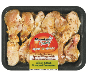 Mountain Valley spiced chicken wings