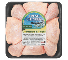 Mountain Valley drumsticks and thighs