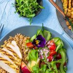 coronation chicken buddha bowl