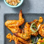 West African spicy chicken wings