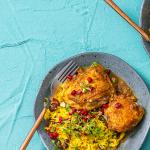 Persian chicken bake