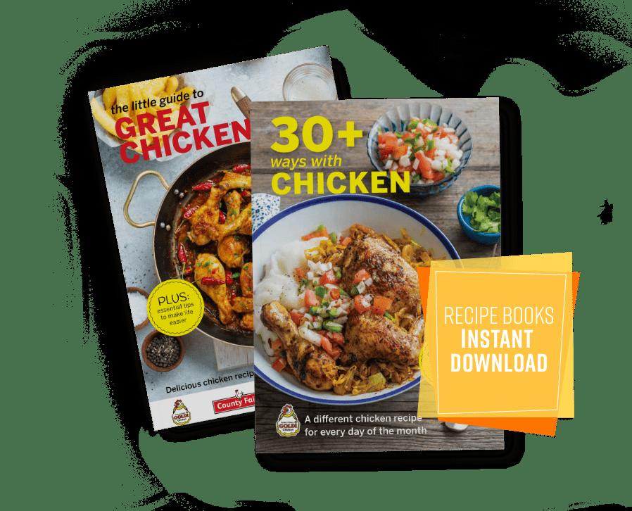 chicken recipe booklets