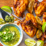 Chimichurri chicken wings